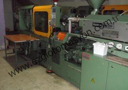 Plastik enjeksiyon otomasyonu STUBBE SKM 250